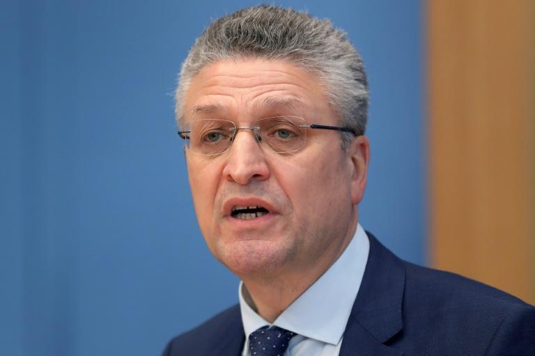 """RKI-Präsident Wieler: Einhaltung von Schutzmaßnahmen """"wichtiger denn je"""" (© 2021 AFP)"""