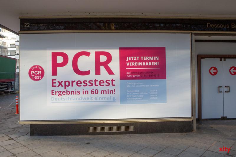 Neuer Express Corona-Test in Düsseldorf (Foto: xity)