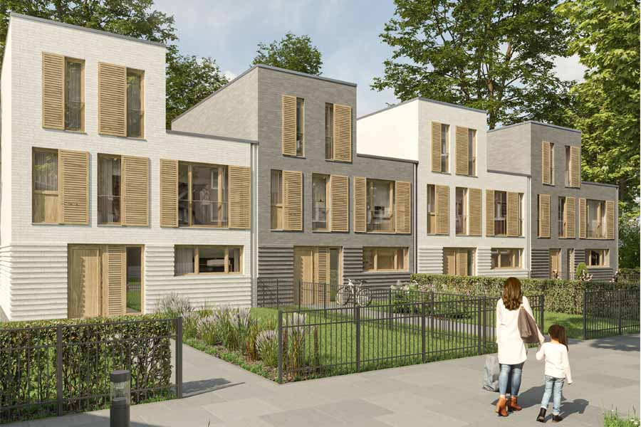 Rund 80 Wohneinheiten in Flingern geplant (Foto: UH Invest)