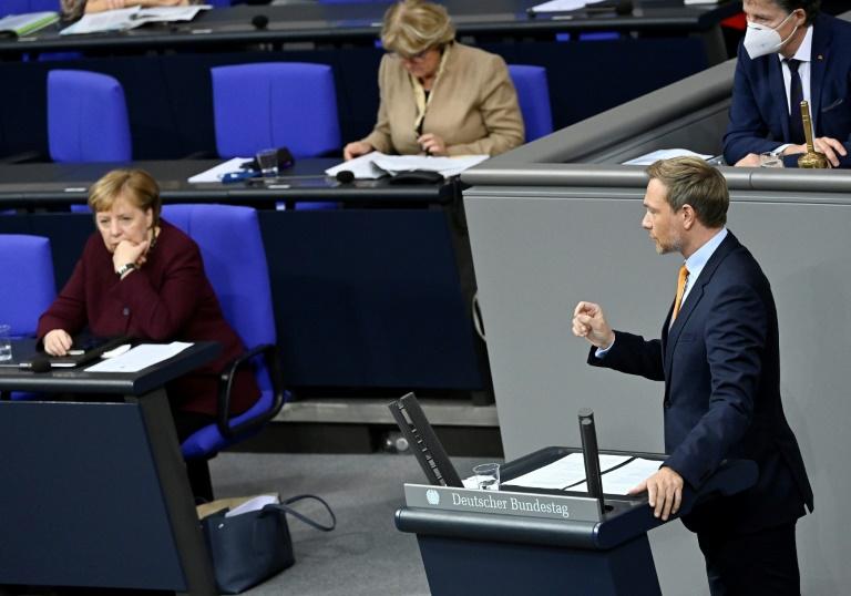 Lindner fordert Vorziehen des nächsten Corona-Gipfels (© 2021 AFP)