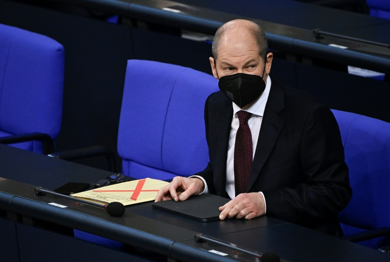 Scholz warnt vor Auseinanderdriften der Gesellschaft in Corona-Krise (© 2021 AFP)