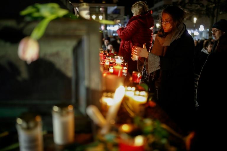 Hanau erinnert an Opfer von rassistischem Anschlag mit neun Toten (© 2021 AFP)