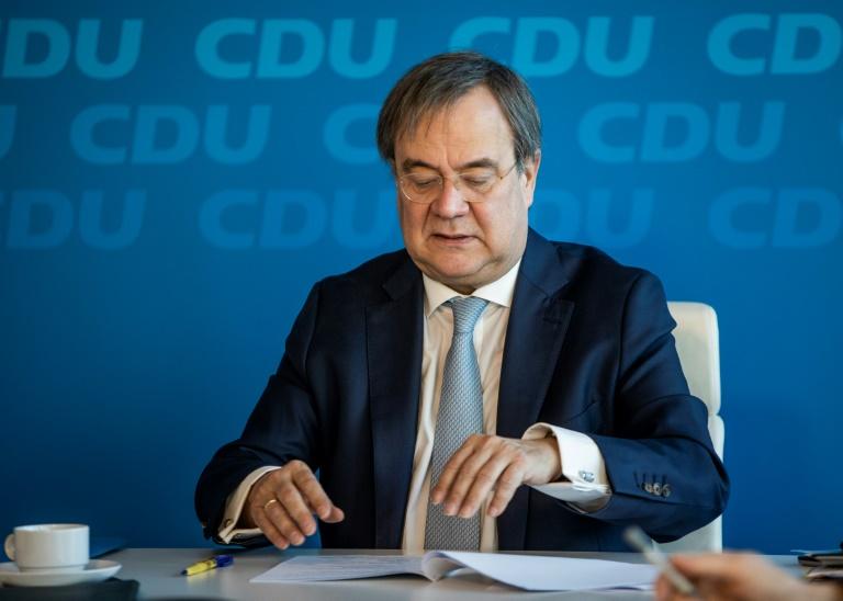 """Laschet wirft Grünen Doppelmoral vor und sieht """"kein schwarz-grünes Projekt"""" (© 2021 AFP)"""