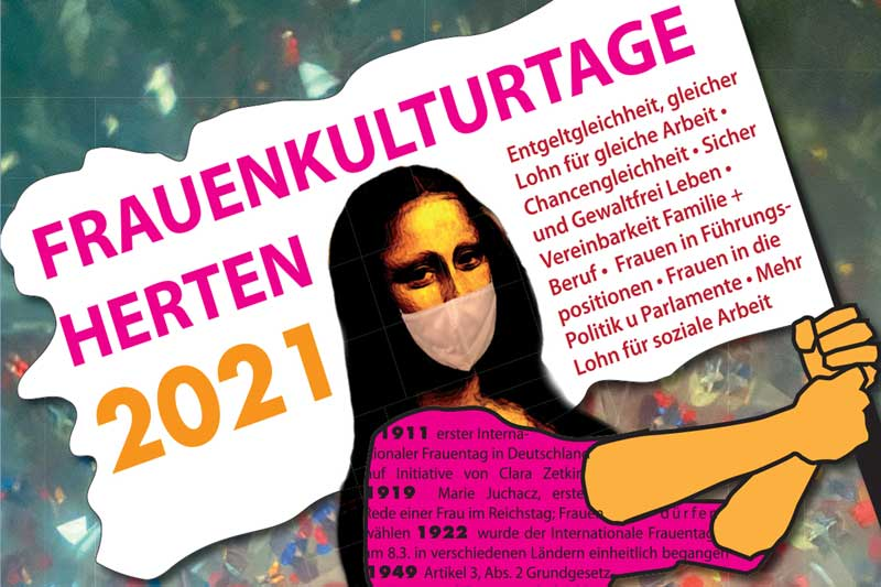 Frauenkulturtage 2021. (Foto: Stadt Herten)