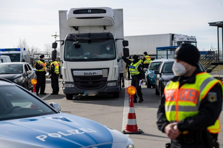 Berlin weist EU-Kritik an Grenzkontrollen zu Tirol und Tschechien zurück (© 2021 AFP)