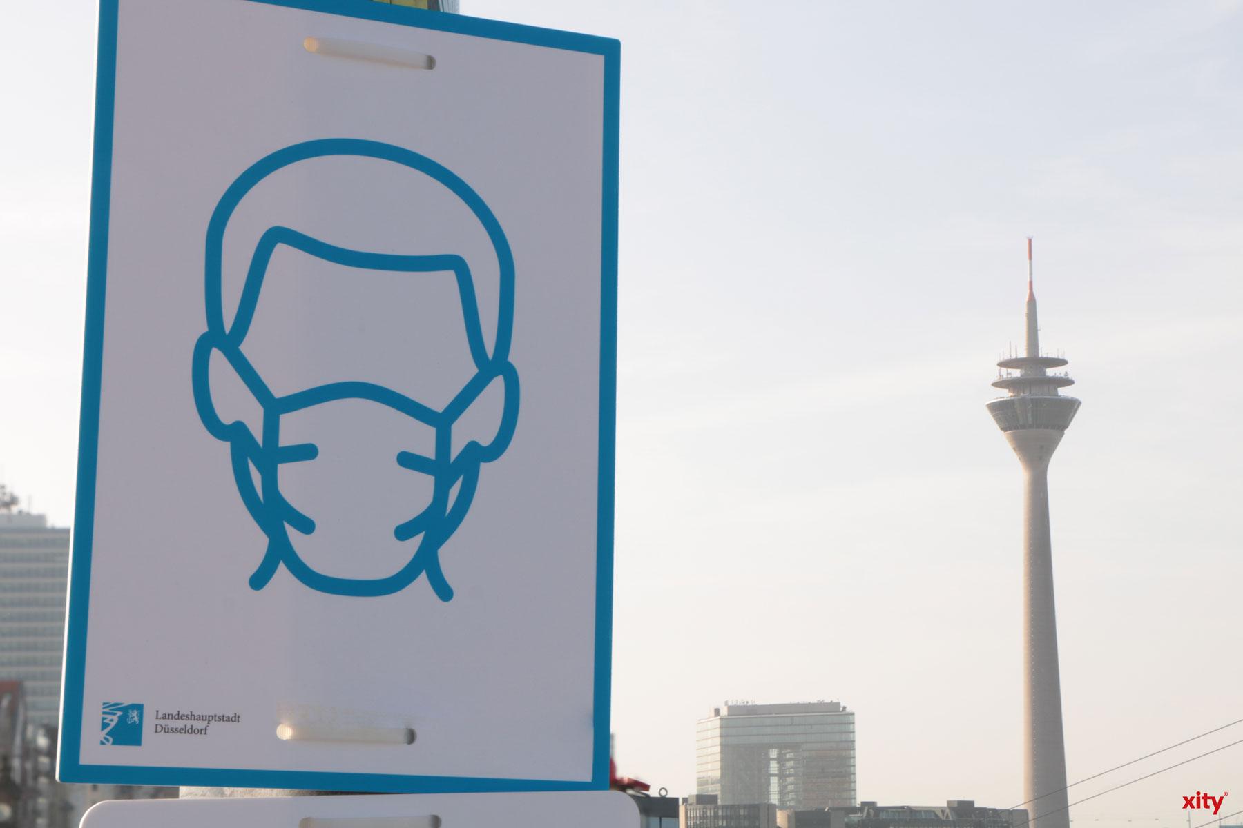An der Rheinuferpromenade gilt ab sofort eine erweiterte Maskenpflicht und ein Verweilverbot (Foto: xity)