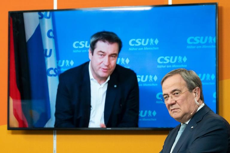 """Söder will K-Frage der Union """"eher später als früher"""" klären (© 2021 AFP)"""