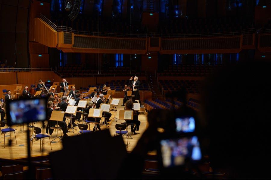 Livestream mit Chefdirigent Adam Fischer(Foto: Susanne Diesner)