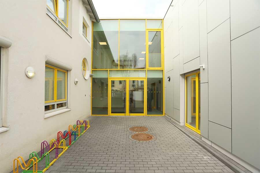 Erweiterungsbau der Kita Sulzbachstraße eröffnet (Foto: Stadt Düsseldorf/David Young)