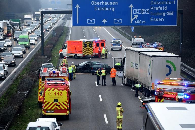 Zahl der Verkehrstoten im Januar um fast ein Drittel gesunken (© 2021 AFP)