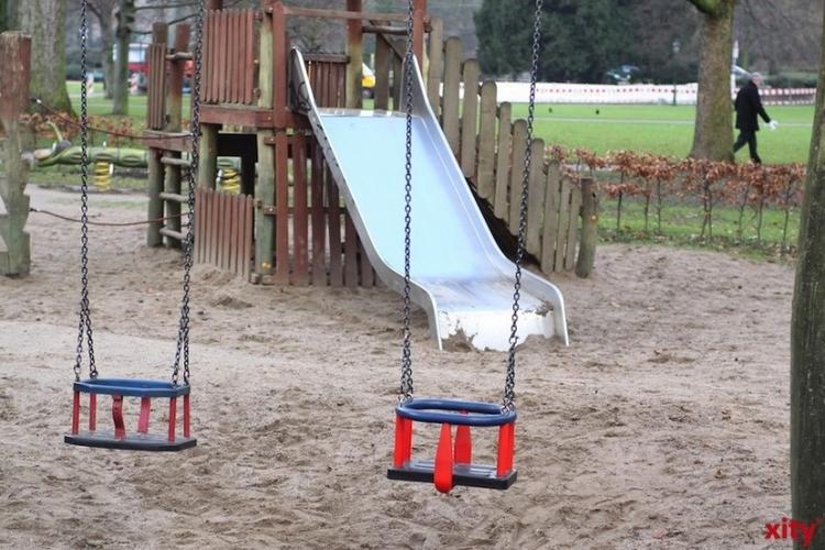 Während des Umbaus sind die Einrichtung und der angrenzende Spielplatz nicht nutzbar (Foto: xity)