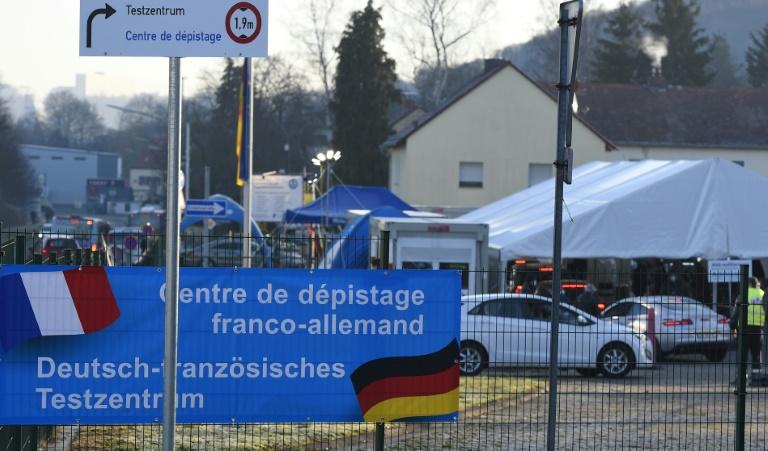 Kreise: Deutschland will Frankreich ab Montag als Hochinzidenzgebiet einstufen (© 2021 AFP)