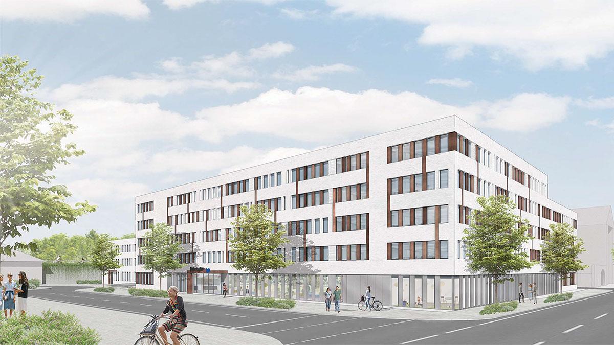 Die baldige neue Heimat des Jobcenters (Foto: Stadt Krefeld, Presse und Kommunikation)