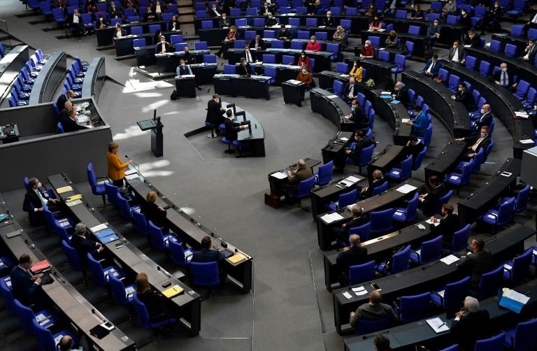 Erneut Hacker-Angriff auf deutsche Abgeordnete (© 2021 AFP)