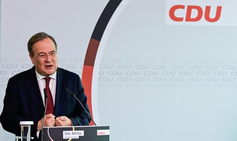 """CDU-Chef Laschet startet """"Beteiligungskampagne"""" für CDU-Wahlprogramm (© 2021 AFP)"""