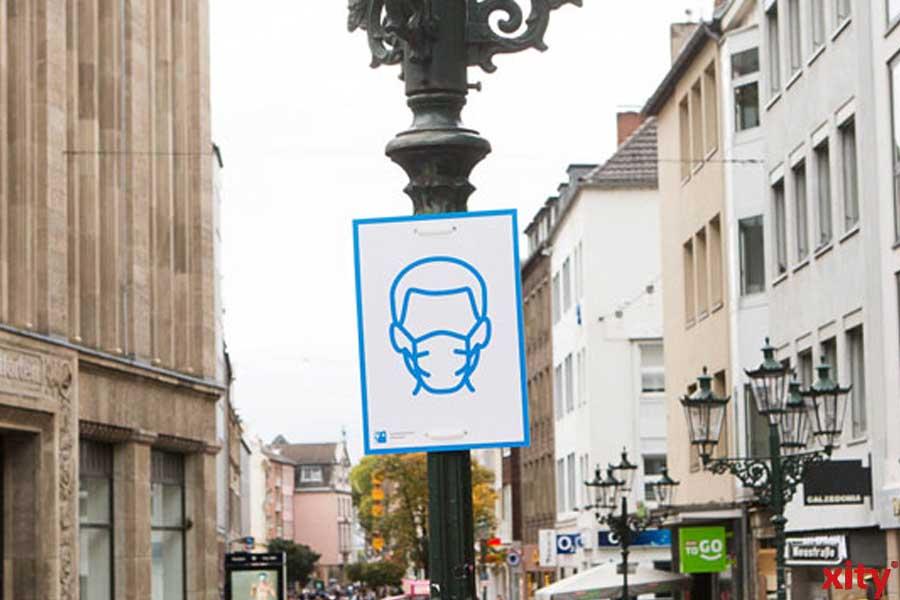 OSD Düsseldorf ahndet 264 Verstöße gegen die Maskenpflicht (Foto: xity)