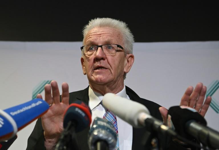 Grüne in Baden-Württemberg entscheiden über Koalitionspartner (© 2021 AFP)