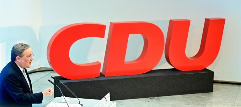 Umfrage: Nur jedes fünfte CDU-Mitglied für Laschet als Kanzlerkandidat (© 2021 AFP)