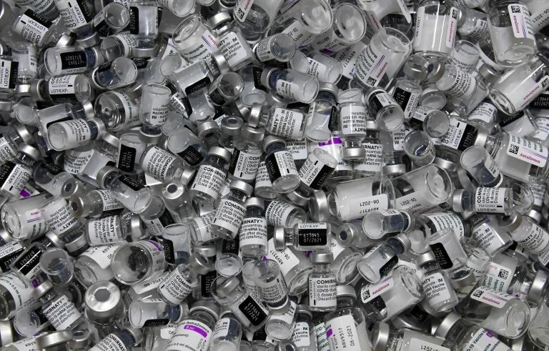 Inzwischen mehr als 25 Millionen Impfdosen in Deutschland verabreicht (© 2021 AFP)