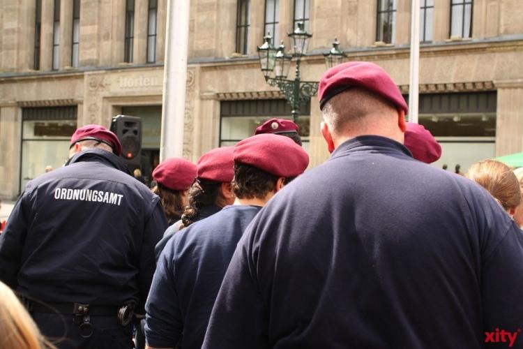 Coronaschutz: OSD Düsseldorf kontrolliert Ausgangsbeschränkungen in Düsseldorf (Foto: xity)