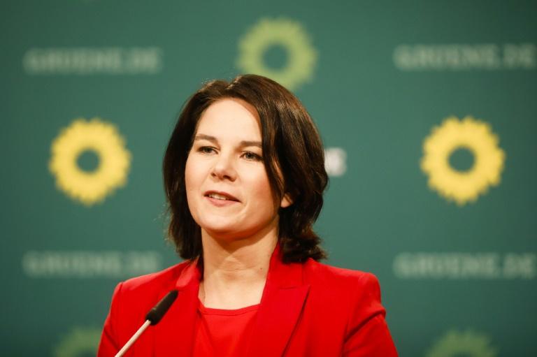 Grüne in neuer Forsa-Umfrage weiter klar vor der Union (© 2021 AFP)