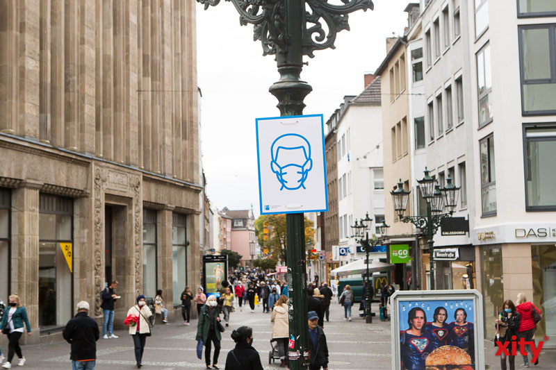 OSD Düsseldorf: 25 Verstöße gegen die Maskenpflicht geahndet (Foto: xity)