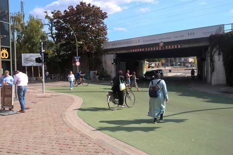 Die Verkehrssicherheit nimmt zu, wenn Kreuzungen umgestaltet werden. (Foto: Stadt Ahlen)