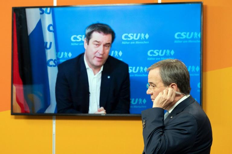 Weitere CDU-Bundestagsabgeordnete wollen Söder als Kanzlerkandidaten (© 2021 AFP)