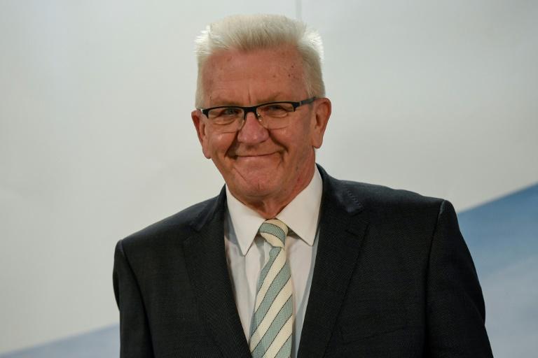 Grüne und CDU in Baden-Württemberg beschließen Koalitionsverhandlungen (© 2021 AFP)