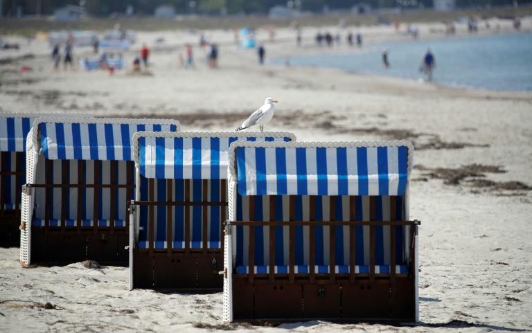 Polizei geht gegen illegale Tagesbesucher in Mecklenburg-Vorpommern vor (© 2021 AFP)