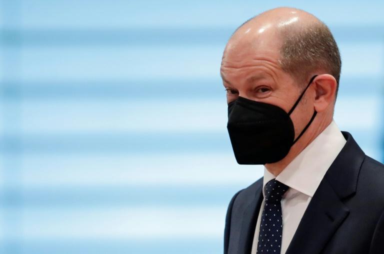 Scholz verteidigt Nachtragshaushalt als notwendig und finanziell stemmbar (© 2021 AFP)