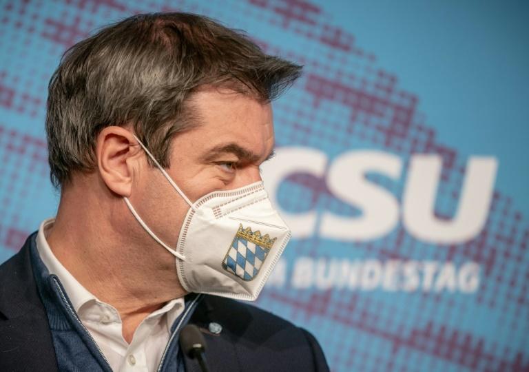 CSU verliert in Umfragen weiter an Zustimmung (© 2021 AFP)