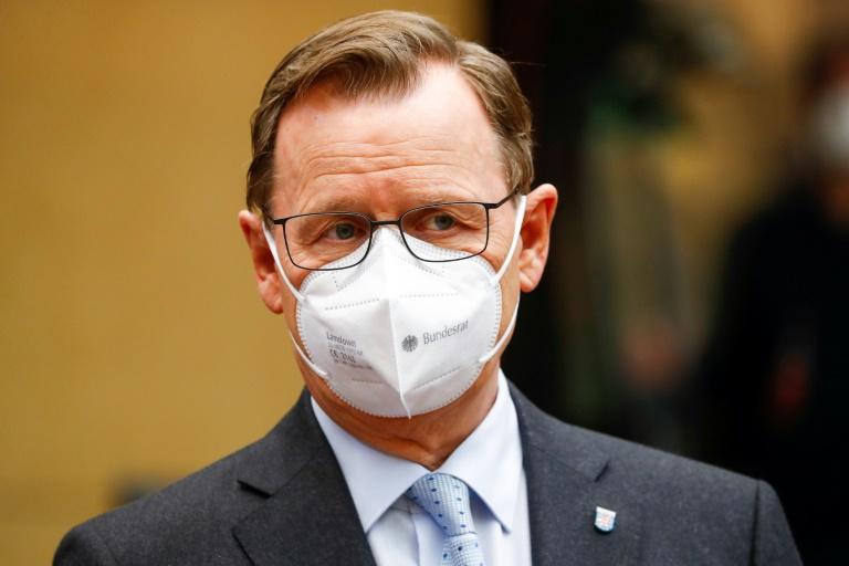 Ramelow hält zögerliche Corona-Politik für Folge von Streit um Kanzlerkandidatur (© 2021 AFP)