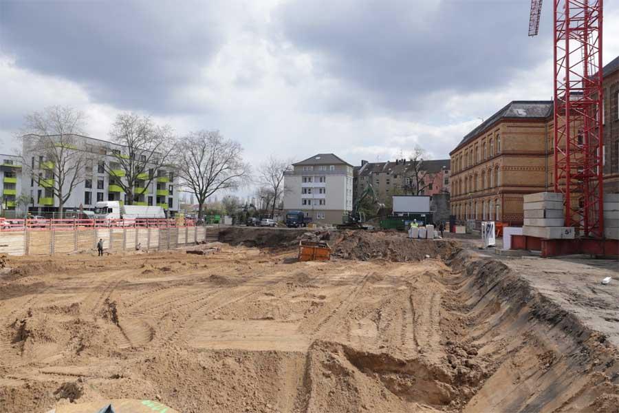 Fertigstellung für 2022 geplant (Foto: Stadt Düsseldorf/Ingo Lammert)