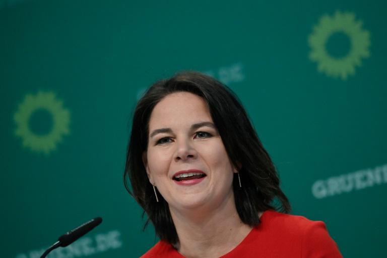 Annalena Baerbock wird Kanzlerkandidatin der Grünen (© 2021 AFP)