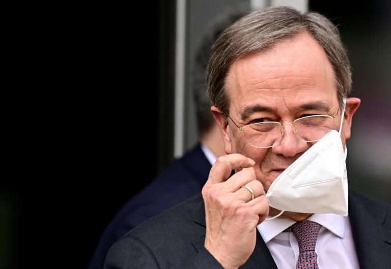 Laschet behält sich Abstimmung im CDU-Vorstand über Kandidatenfrage vor (© 2021 AFP)