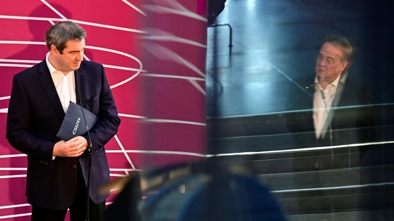 Söder: Laschet wird Unionskanzlerkandidat (© 2021 AFP)