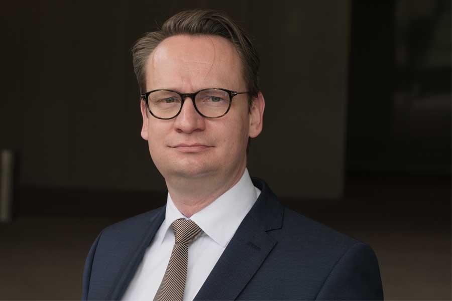 Dr. Michael Rauterkus zum Beigeordneten für Wirtschaft, Digitalisierung, Personal und Organisation gewählt (Foto: Stadt Düsseldorf/Michael Gstettenbauer)