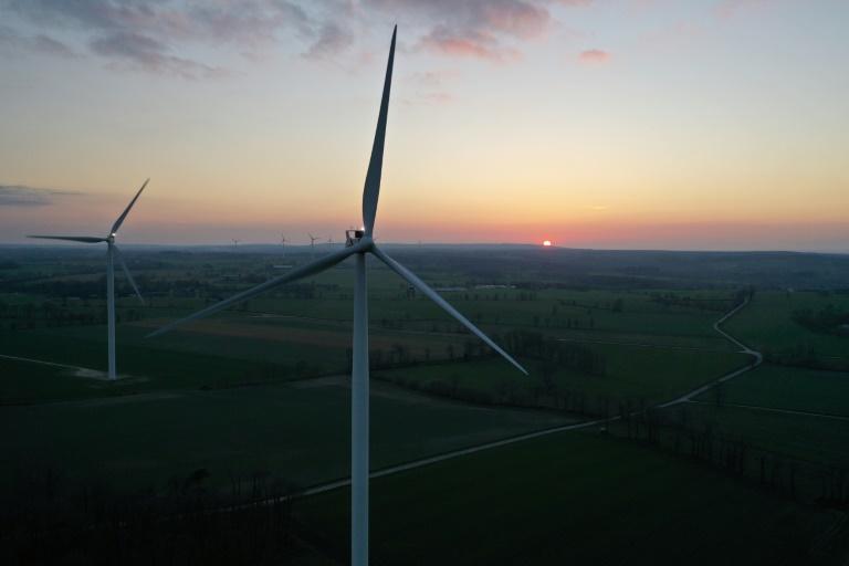 Scholz kündigt neues Klimaschutzgesetz noch in dieser Legislaturperiode an (© 2021 AFP)