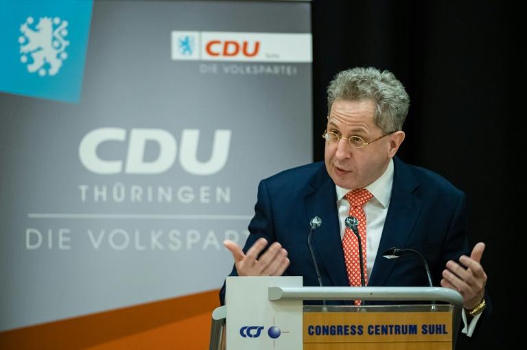 Maaßen in Südthüringen als CDU-Kandidat für Bundestagswahl nominiert (© 2021 AFP)