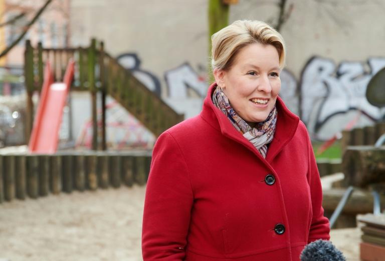 Berliner SPD kürt Giffey zur Spitzenkandidatin für Abgeordnetenhauswahl (© 2021 AFP)