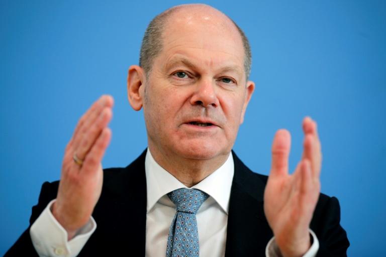 Scholz spricht Baerbock und Laschet Eignung für das Kanzleramt ab (© 2021 AFP)