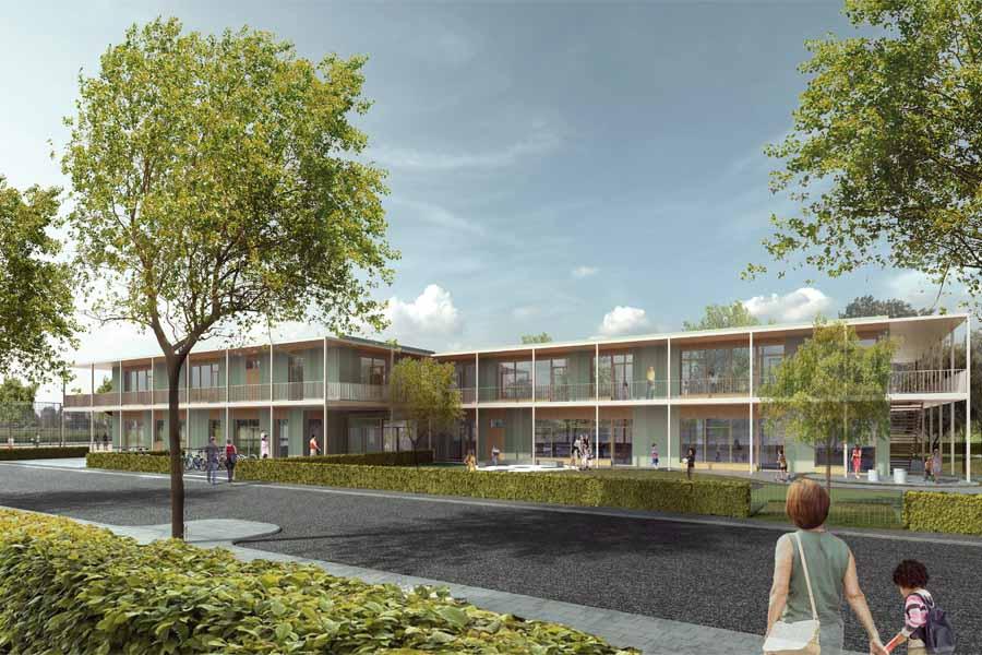 Neubau Haus für Kinder, Jugendliche und Familien Dornröschenweg 4 (Foto: Pier 7 Architekten GmbH)