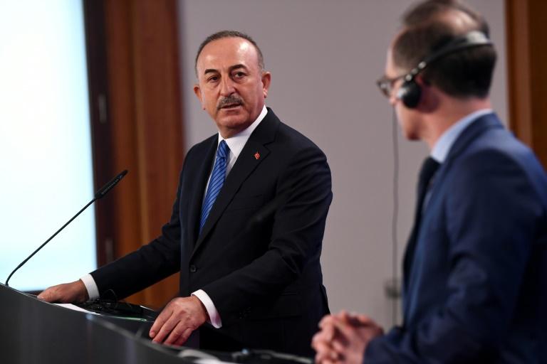 Cavusoglu wirft EU Nichteinhaltung des Migrationsabkommens vor (© 2021 AFP)