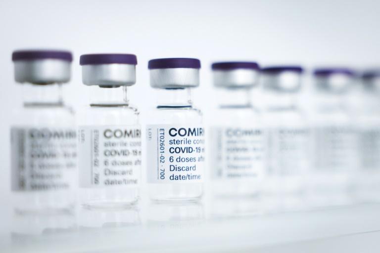 """Biontech sieht Patente nicht als """"limitierenden Faktor"""" bei Impfstoffproduktion (© 2021 AFP)"""