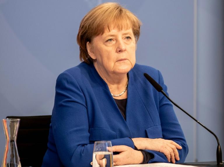Bericht: Merkel sprach mit Biontech-Chef über Patentfreigabe (© 2021 AFP)
