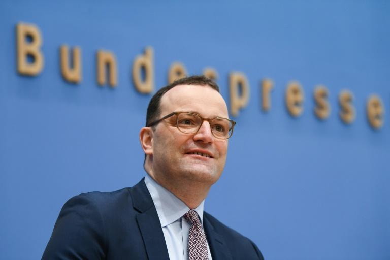 Spahn warnt ungeachtet sinkender Infektionszahlen vor zu schnellen Lockerungen (© 2021 AFP)