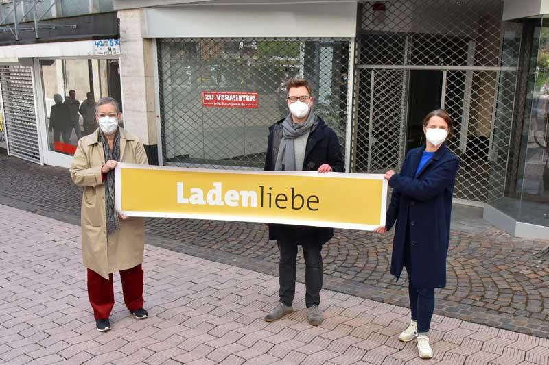 Initiative Ladenliebe gegen Leerstand. (Foto: Andreas Hermann)
