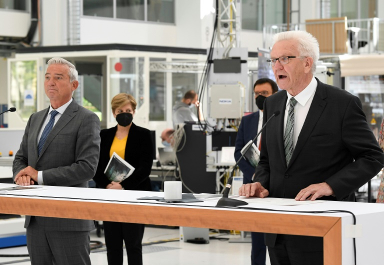Grüne und CDU in Baden-Württemberg stimmen über Koalitionsvertrag ab (© 2021 AFP)