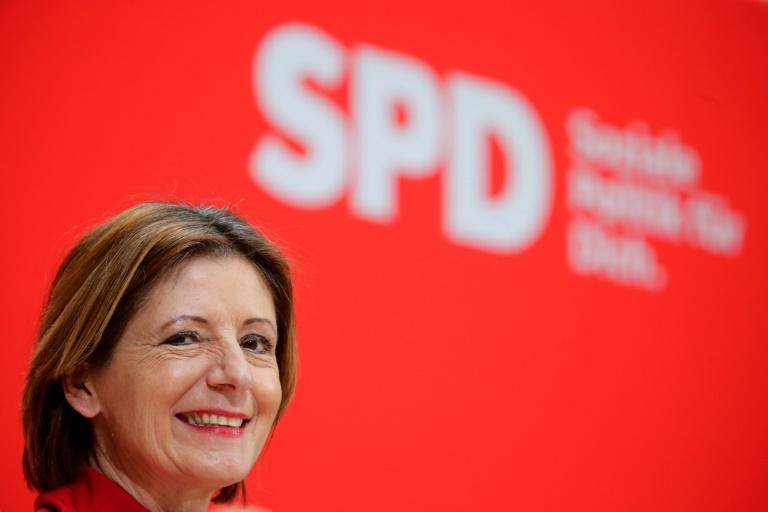 Parteien der Ampelkoalition in Rheinland-Pfalz unterzeichnen Koalitionsvertrag (© 2021 AFP)